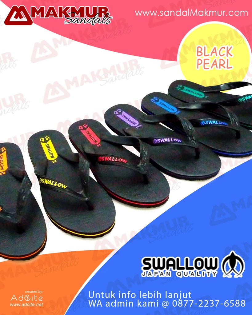 Swallow (Black Pearl) [M-02] (T) (7-8,5)
