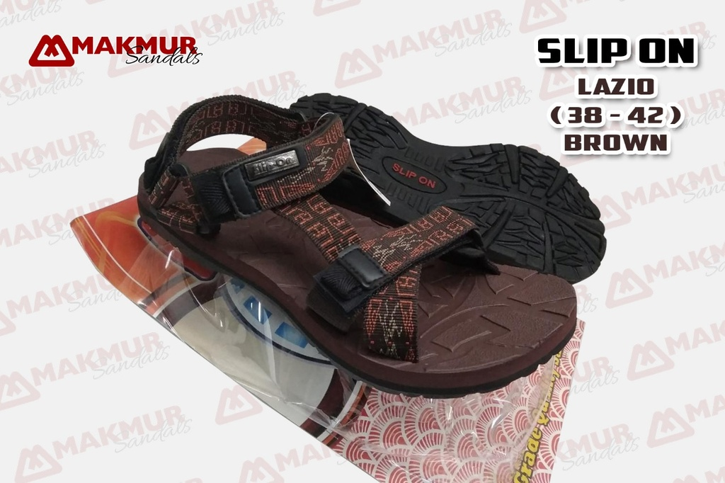Slip On Lazio [Brown] (38-42)